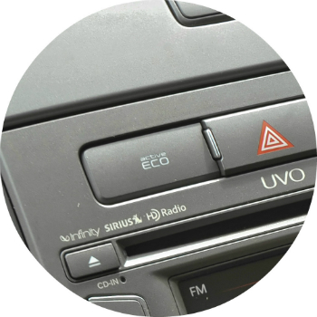 What is the Kia Eco Button?