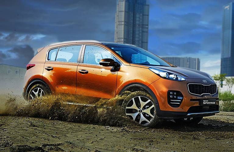 2017 Kia Sportage orange