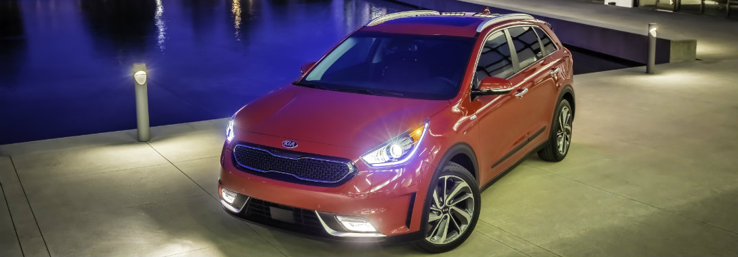 2017 Kia Niro Entertainment System and Convenience Features