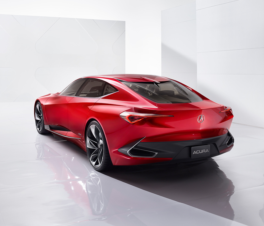 Acura Precision Concept To Be Showcased At Chicago Auto Show