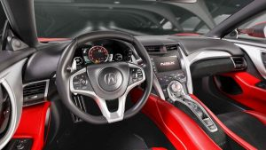 Next-Generation Acura NSX Interior