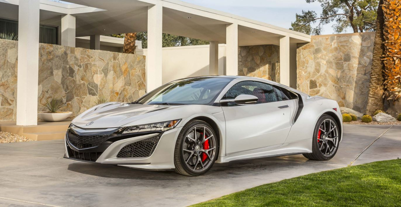 The all-new NSX has a hybrid engine/electric motor combination that  provides strong acceleration and excellent fuel economy. Its sharp and  responsive ...