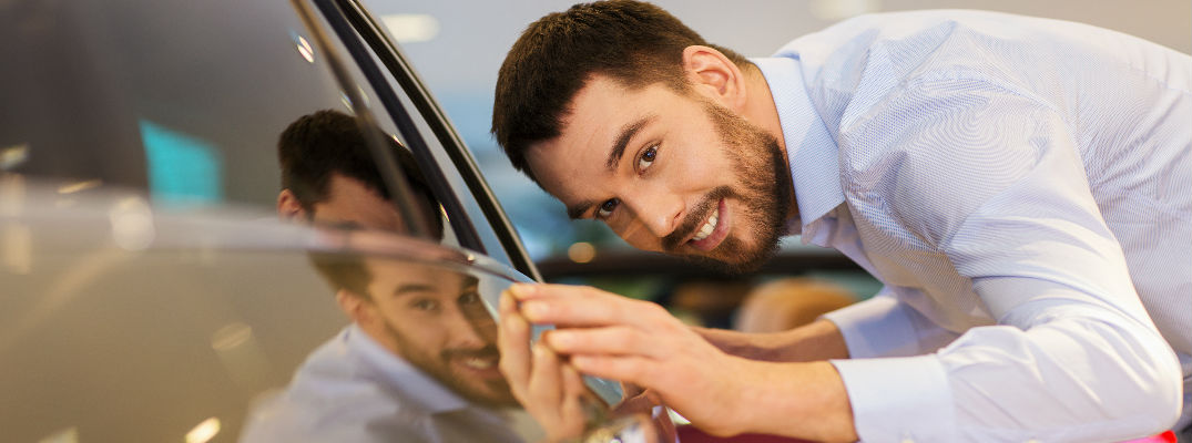 Want to find out how to maintain your car's resale value and be just as proud of your car as this man is of his car?
