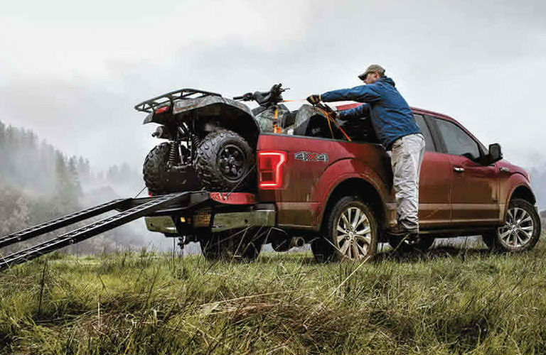 Ford trucks can haul heavy weight for work and recreation.