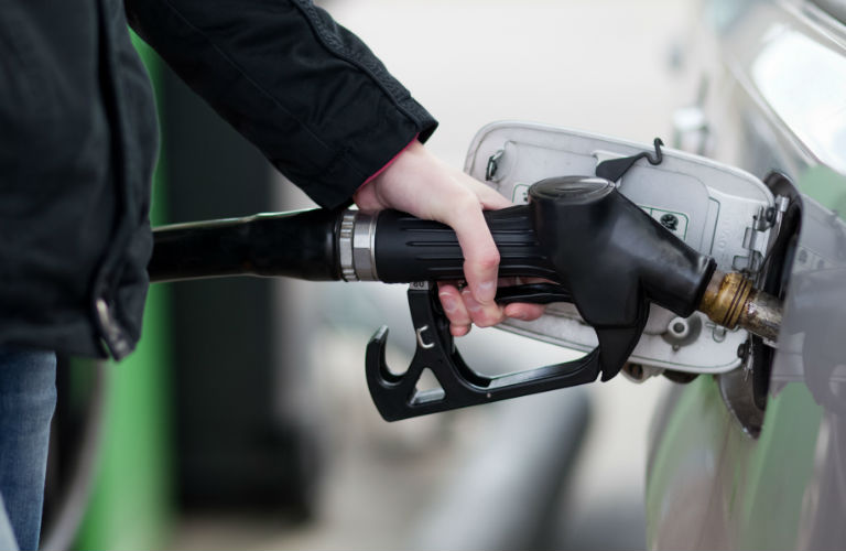The cost of a gallon of gasoline has changed since 1986.