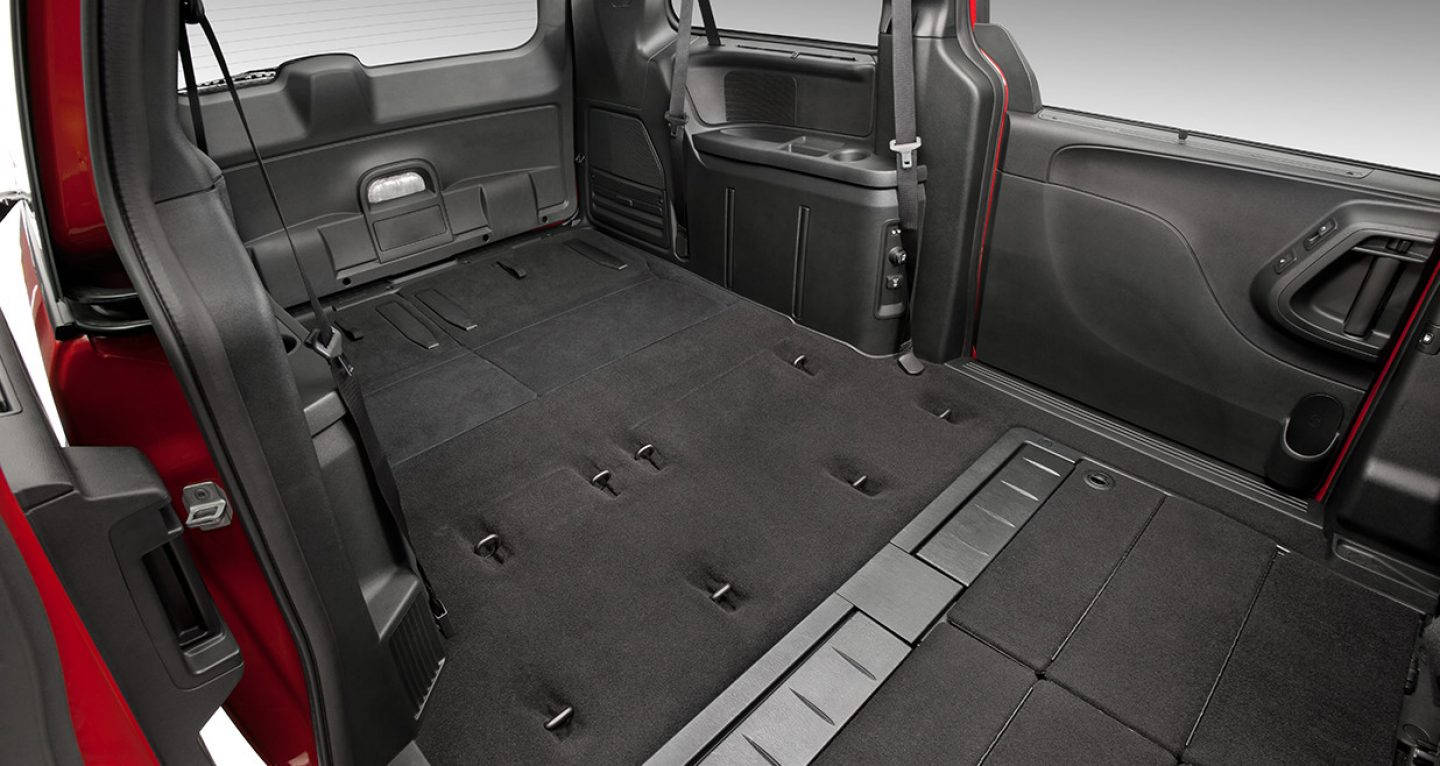 2017 Grand Caravan Cargo Space Best New Cars For 2018