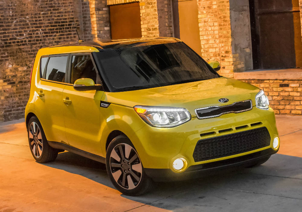 You've got to have Soul. The 2016 Kia Soul, which offers excellent initial quality