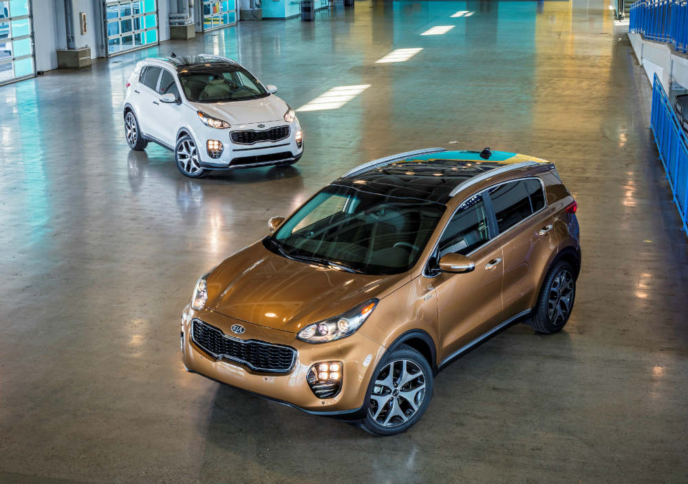 confident and reliable 2016 Kia Sportage leads initial quality survey