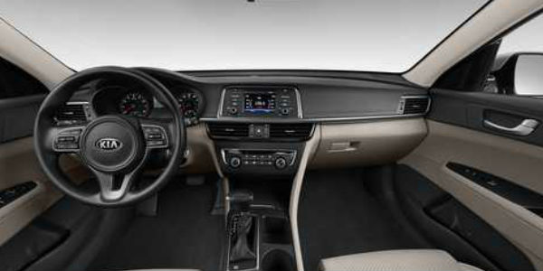2016 Kia Optima Interior In Cream