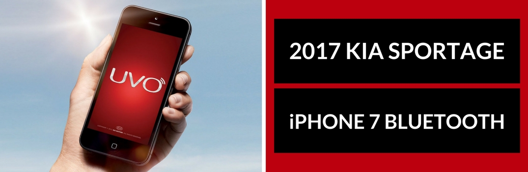 iPhone 7 Bluetooth Pairing Instructions for 2017 Kia Sportage
