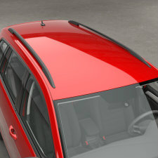 VW Golf SportWagen S roof rails