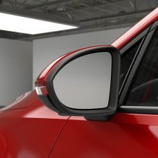 VW Golf SportWagen heated side mirrors