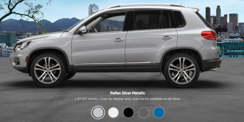 2017 volkswagen tiguan colors and pricing. Black Bedroom Furniture Sets. Home Design Ideas