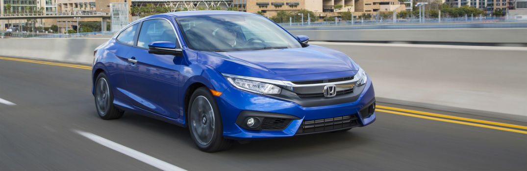 2016 honda civic coupe specs features