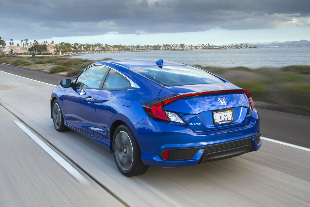 2016 honda civic coupe specs features for Honda civic features