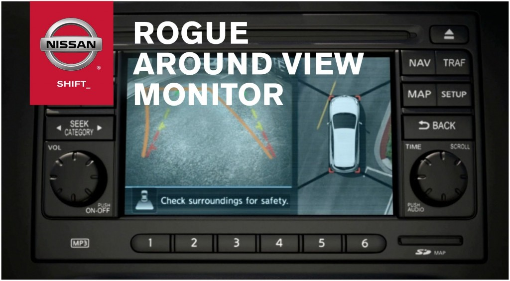 Nissan Rogue Safety Technology Montgomery