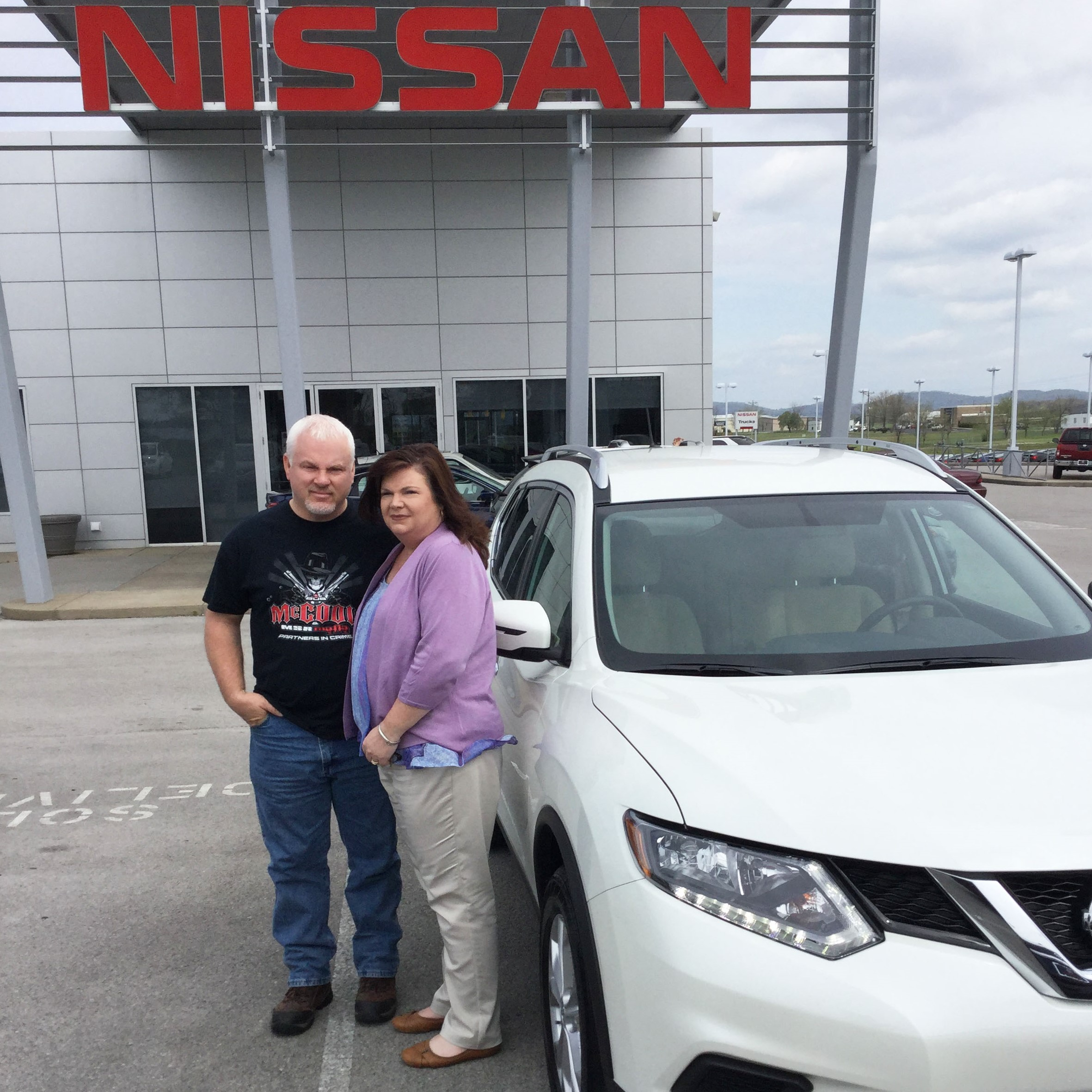 Nissan Of Murfreesboro >> New Nissan Rogue Owners The Dye Family Newton Nissan South