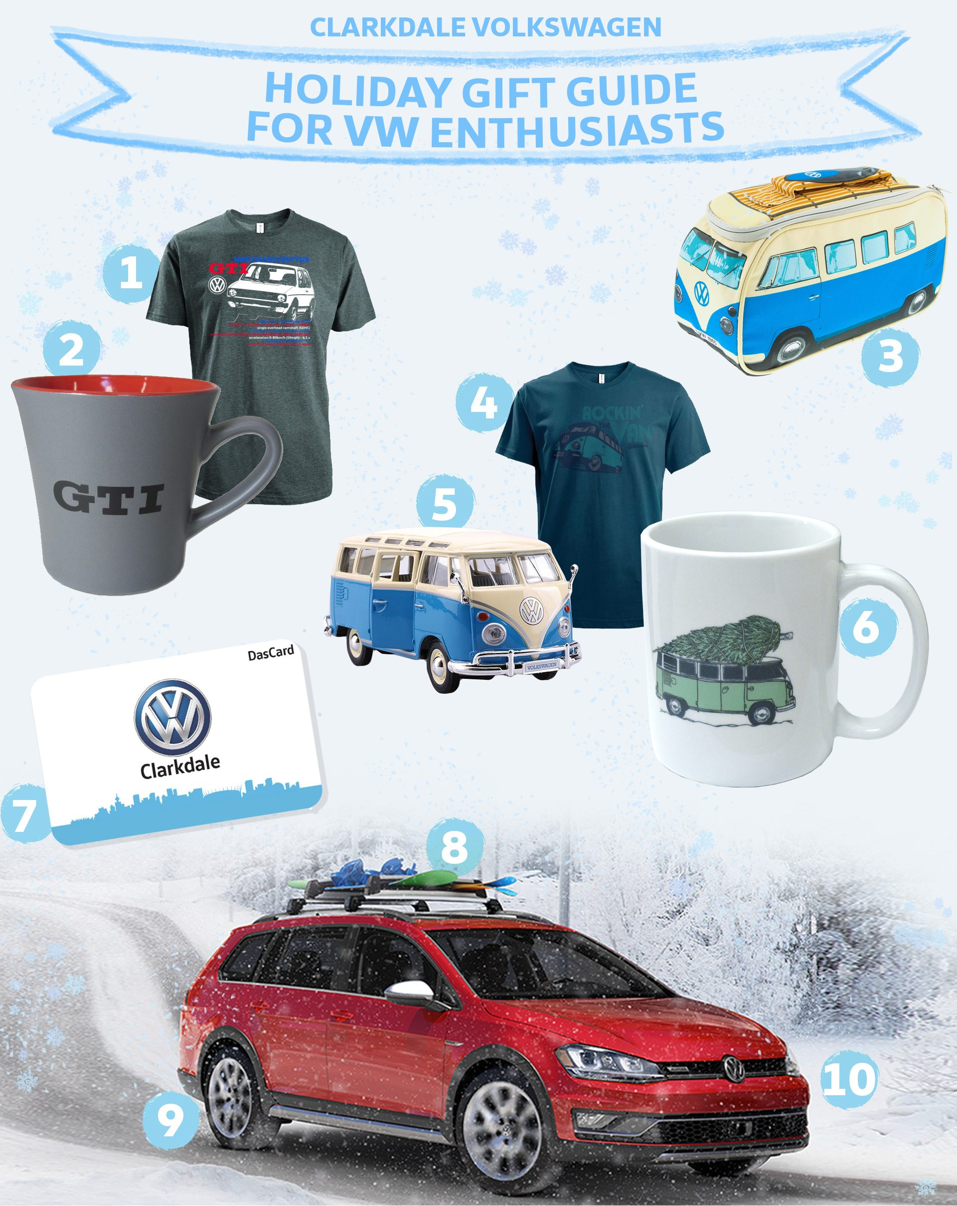 VW Holiday Gift Guide