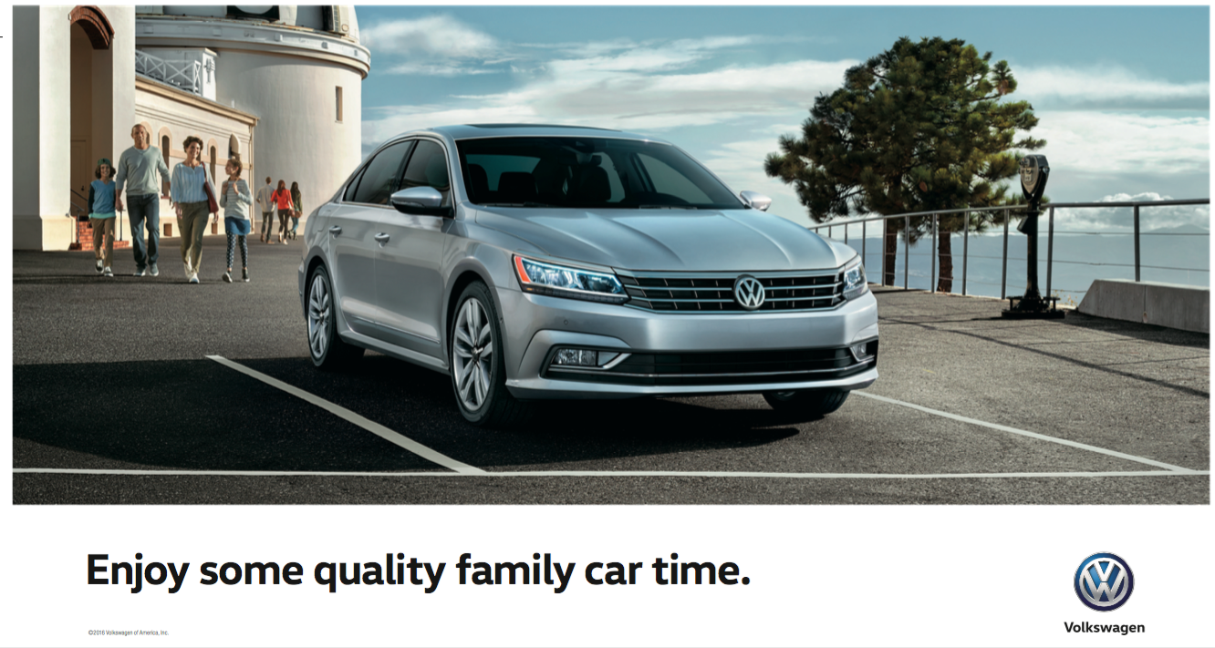 2016 Volkswagen Passat Voted Midsize Sedan Of The Year Ken Vance