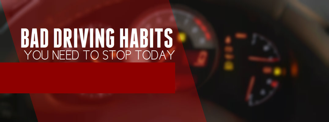 how to fix bad driving habits