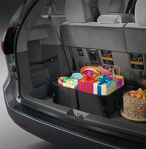 2016 toyota sienna interior comfort. Black Bedroom Furniture Sets. Home Design Ideas