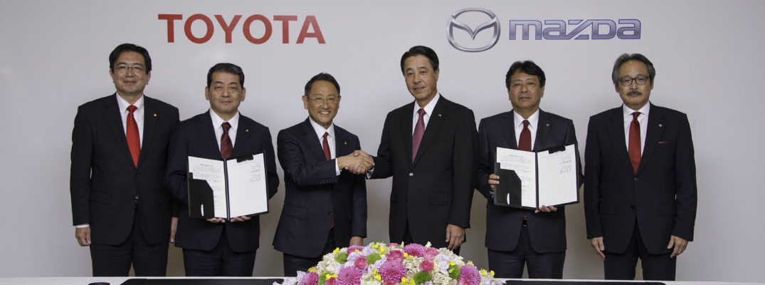 Mazda Partners with Toyota to Build New Plant in the US