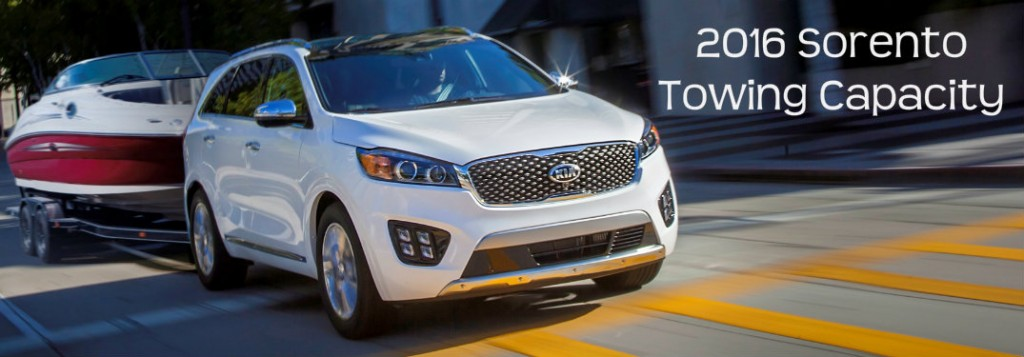 How Much Can The Kia Sorento Tow