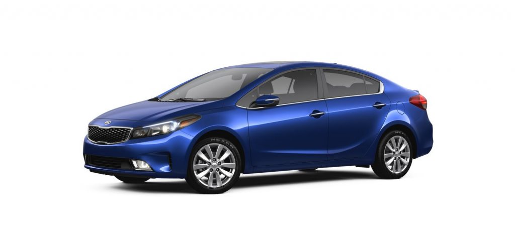 2017 Kia Forte Deep Sea Blue