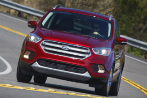 How does the 2017 Ford Escape compare to other SUVs
