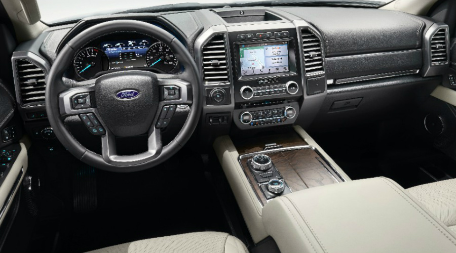 2018 Ford Expedition Dashboard Features And Layout
