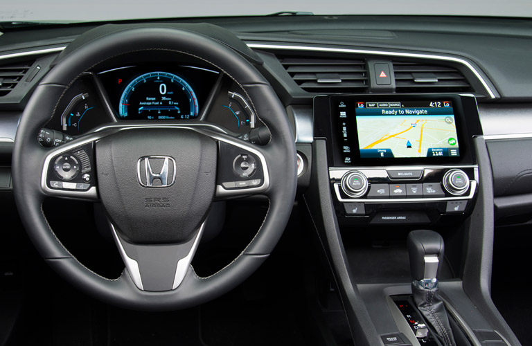 2016 Honda Civic with navigation