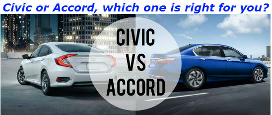 Civic or Accord, Which one is right for you?
