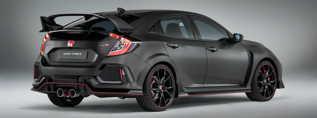 Honda Civic Type R Prototype Aggressive Exterior Design