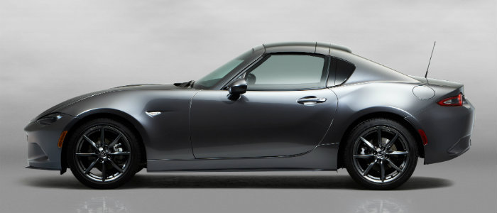 2017 mazda mx-5 miata rf with top up