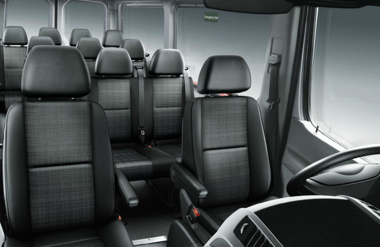 How Much Space Does The Mercedes Benz Sprinter Passenger Van Have