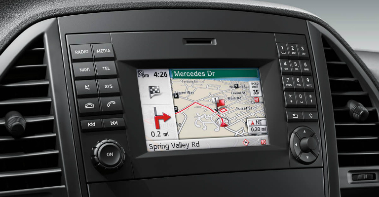 Does the Mercedes-Benz Metris have navigation?