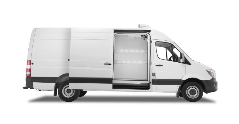 Mercedes-Benz Sprinter Refrigeration upfit side view