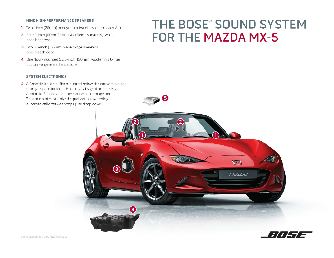 How do you get good sound quality in a convertible?