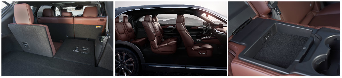 how much cargo room is in the 2016 cx-9?