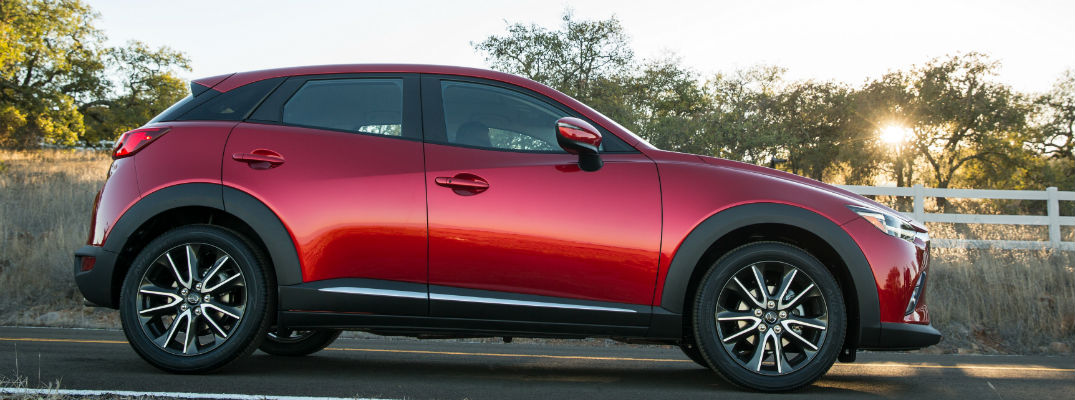 what is the difference between the 2017 mazda cx-3 trims?