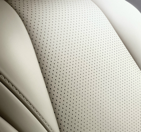 advantages of perforated leather car seats