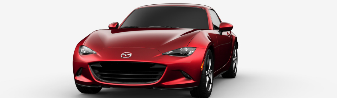 2017 Mazda MX 5 Miata RF In Soul Red Metalllic