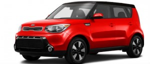 2016 kia soul inferno red and black