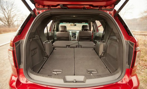 ford explorer vs jeep grand cherokee - Ford Explorer 2015 Trunk Space