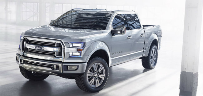 Ford Aluminum Body >> Aluminum Body 2015 Ford F-150