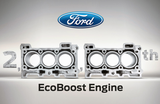 Castrucci Celebrates Milestone for Ford EcoBoost Engine