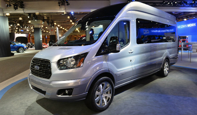 Ford Shows Off Transit Skyliner Concept Van