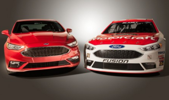 Performance of the new Ford Fusion Nascar