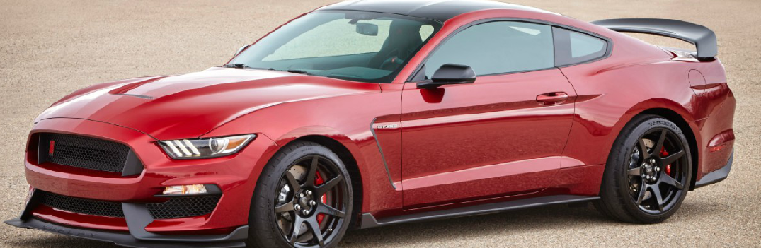 2017 Ford Shelby Mustang GT350 new Color Options