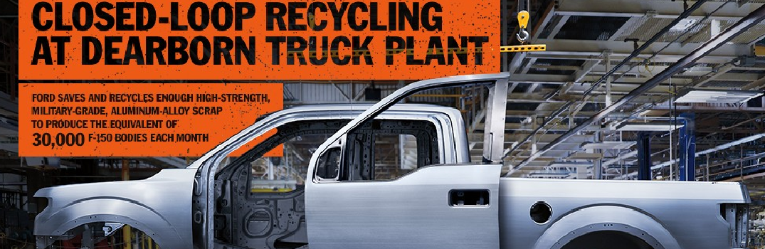 Info Graphic About 2016 Ford F-150 Recycling